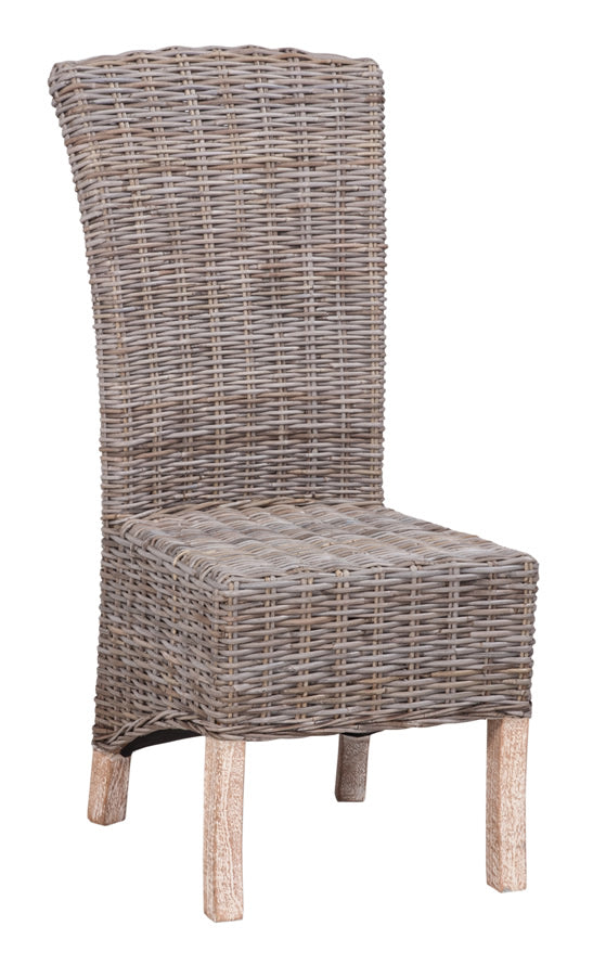 Natural Wicker Dining Chair