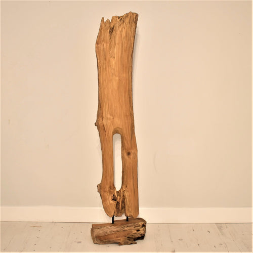 Wooden Pillar Sculpture