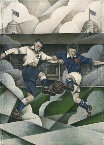 Proffitt Commissioned by the English FA for the Official Wembley Programme