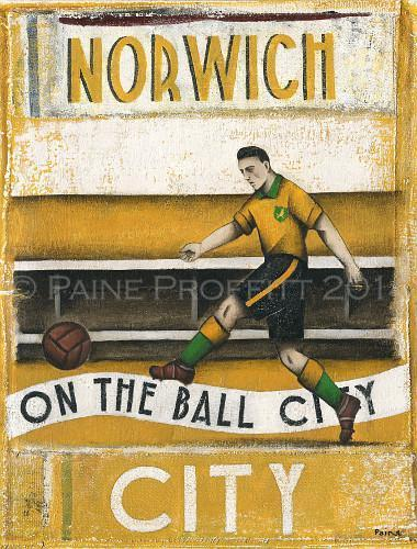 Norwich City Football Gifts