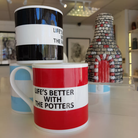 Stoke City Saying Mug Gift by The Pot Bank made in Great Britain