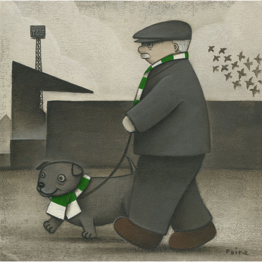 Forest Green Rovers Gift Walkies Ltd Signed Football Print by Paine Proffitt | BWSportsArt