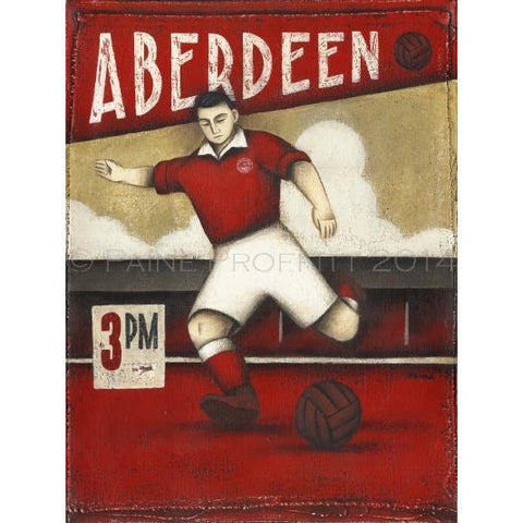 Aberdeen 3pm Ltd Edition Print by Paine Proffitt - BWSportsArt