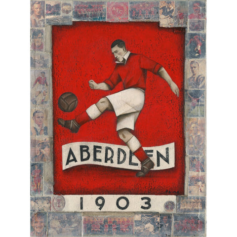 Aberdeen Gift- Aberdeen 1903 Ltd Edition Signed Football Print by Paine Proffitt - BWSportsArt