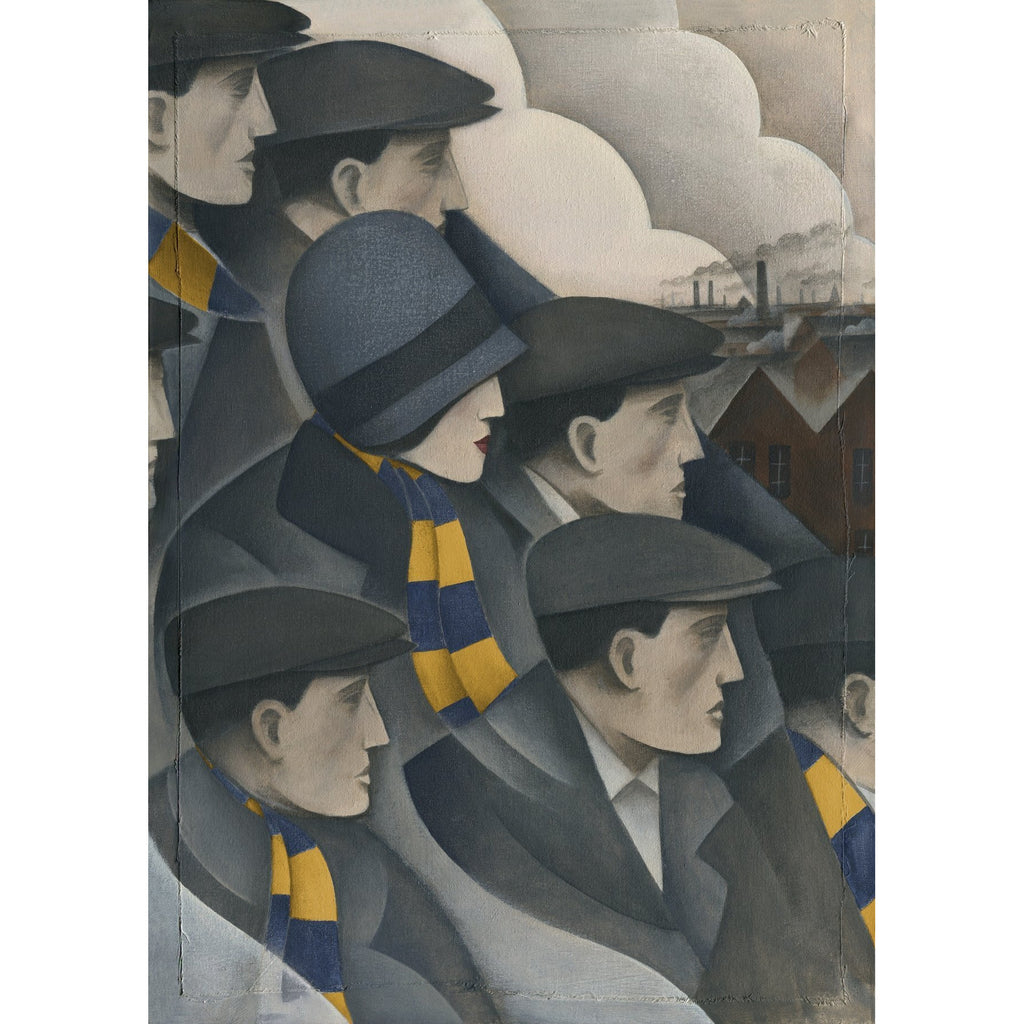 AFC Wimbledon The Crowd Ltd Edition Print by Paine Proffitt - BWSportsArt