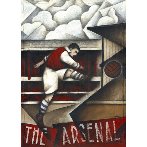Arsenal Gift - Memories Of Highbury Limited Edition Football Print by Paine Proffitt - BWSportsArt