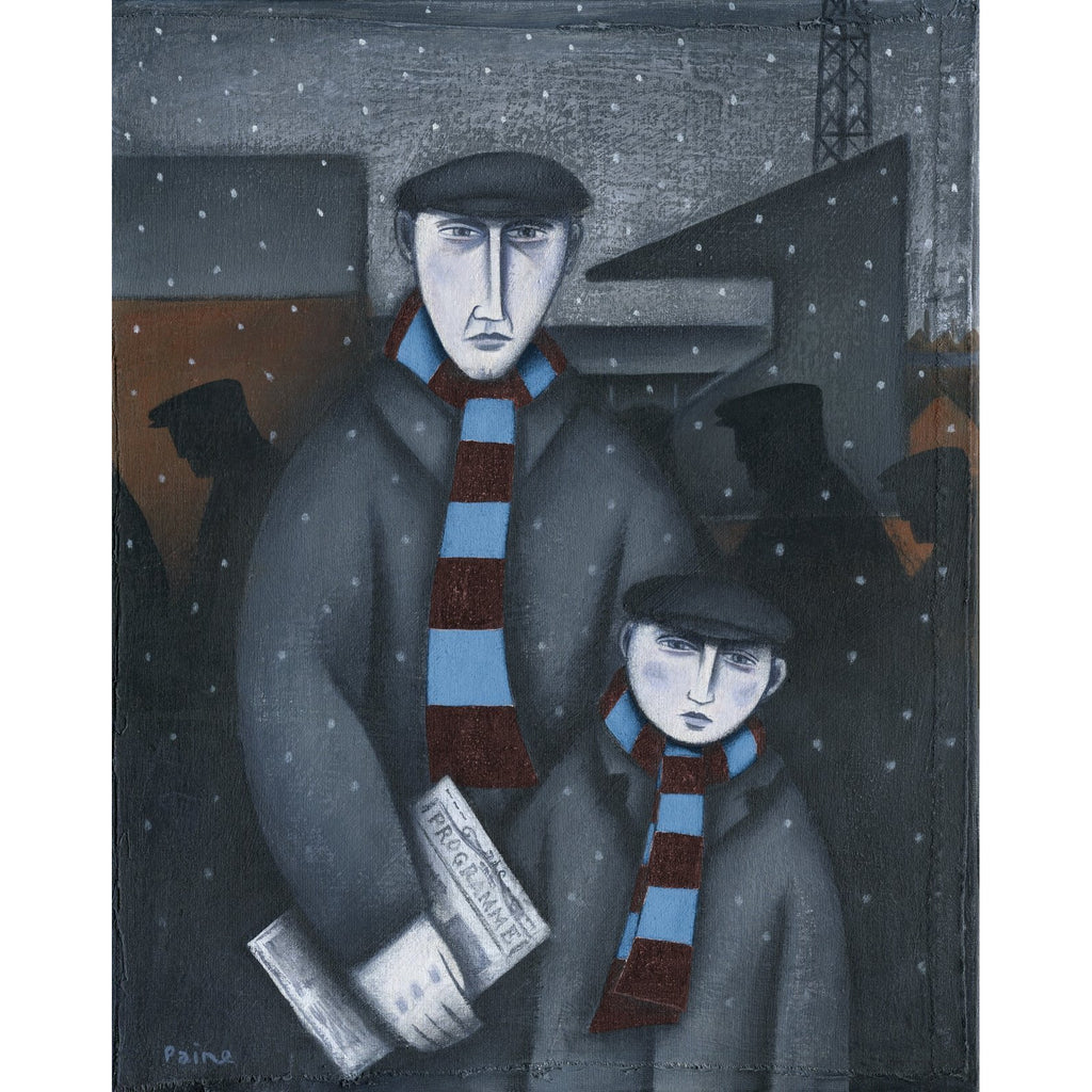 Aston Villa Gift - Every Saturday Limited Edition Football Print by Paine Proffitt | BWSportsArt