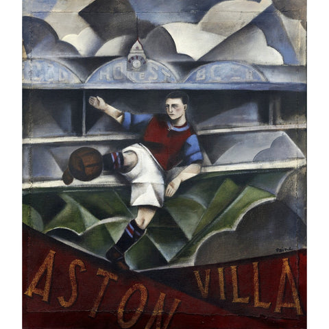 Aston Villa Gift - Dark Days Over Villa Ltd Edition Football Print by Paine Proffitt - BWSportsArt