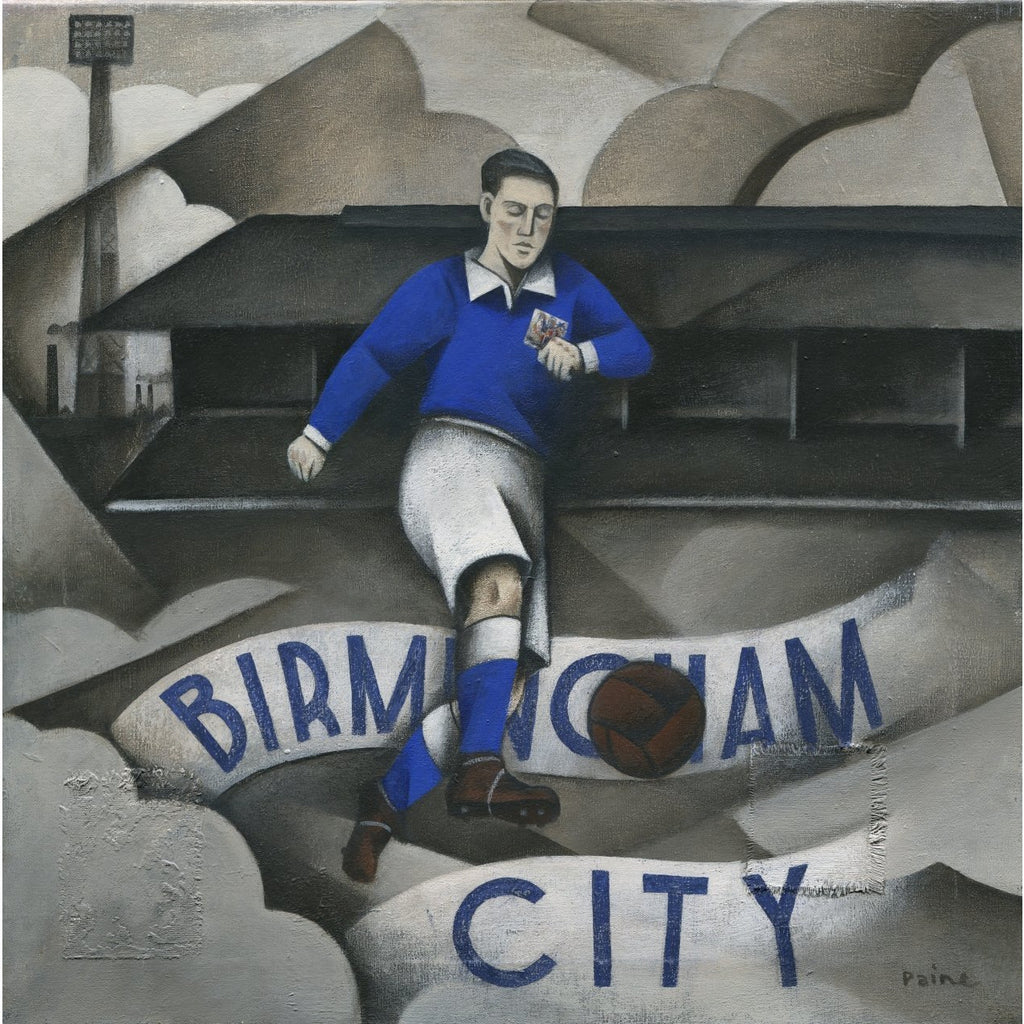 Birmingham City FC - Birmingham City Limited Edition Print by Paine Proffitt - BWSportsArt