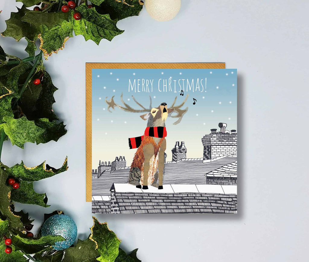 Bournemouth Merry Christmas Cards by Flying Teaspoons