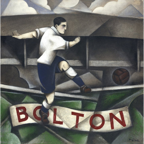 Bolton - Bolton Wanderers Ltd Edition Print by Paine Proffitt - BWSportsArt