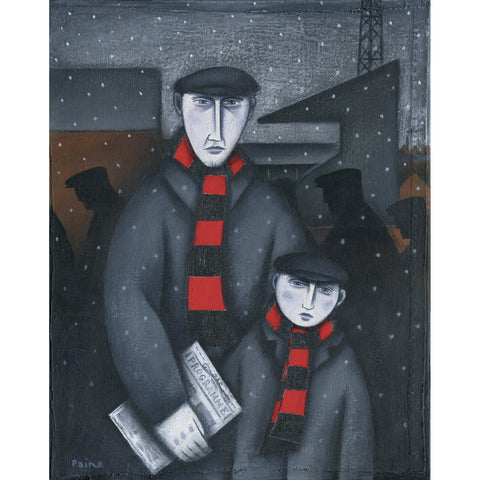 Bournemouth Every Saturday - Limited Edition Print by Paine Proffitt Ltd Edition Print Football Gift