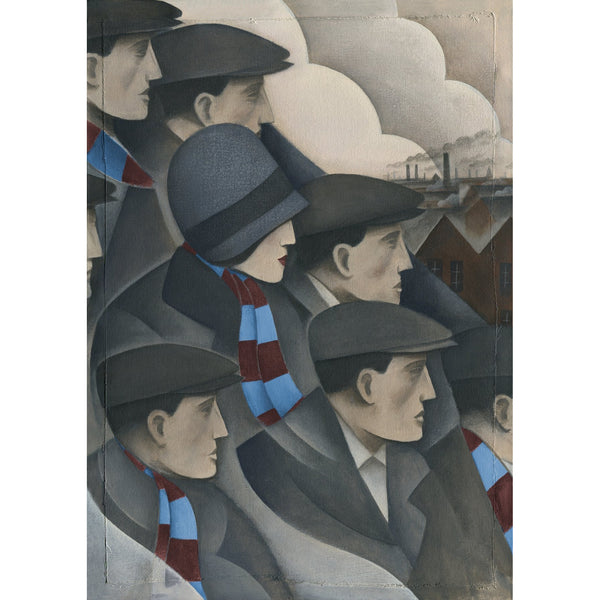 Burnley Gift - The Crowd Limited Edition Signed Football Print - BWSportsArt