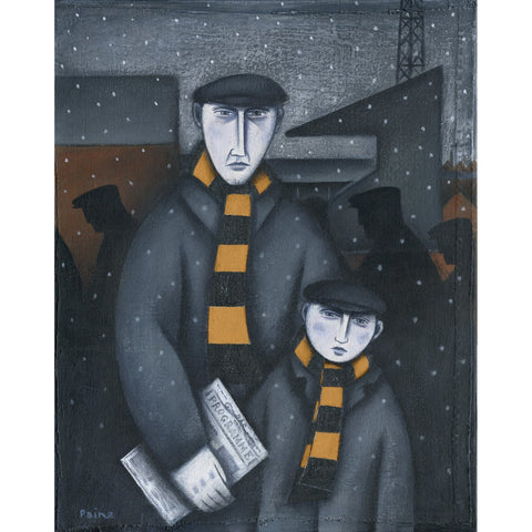 Cambridge United Every Saturday Ltd Edition Print by Paine Proffitt - BWSportsArt