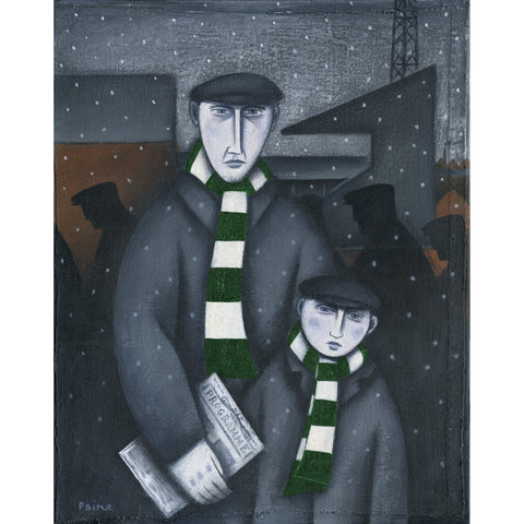 Celtic Every Saturday Ltd Edition Print by Paine Proffitt - BWSportsArt