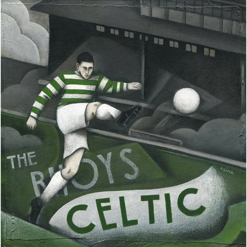 Celtic FC - Celtic at Celtic Park Limited edition Print by Paine Proffitt - BWSportsArt