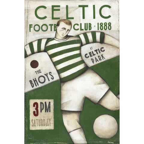 Celtic FC - Celtic The Bhoys Limited edition Print by Paine Proffitt - BWSportsArt