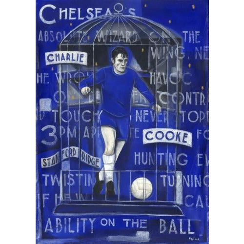 Chelsea Gift - Charlie Cooke Ltd Ed Signed Football Print | BWSportsArt