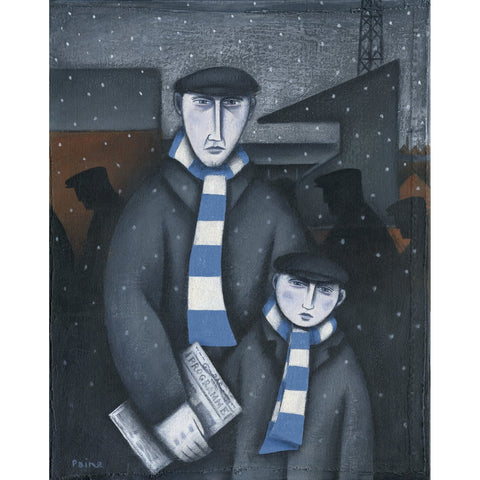 Coventry City Every Saturday Limited Edition Print by Paine Proffitt | BWSportsArt
