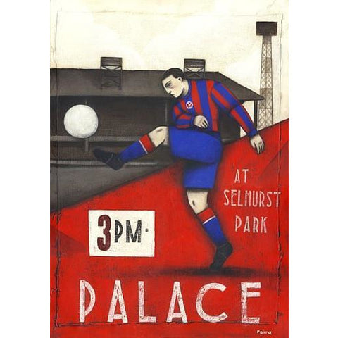 Crystal Palace 2 Ltd Edition Print by Paine Proffitt - BWSportsArt