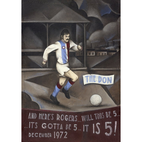 Crystal Palace - The Don - It IS Five Ltd Edition Print by Paine Proffitt - BWSportsArt
