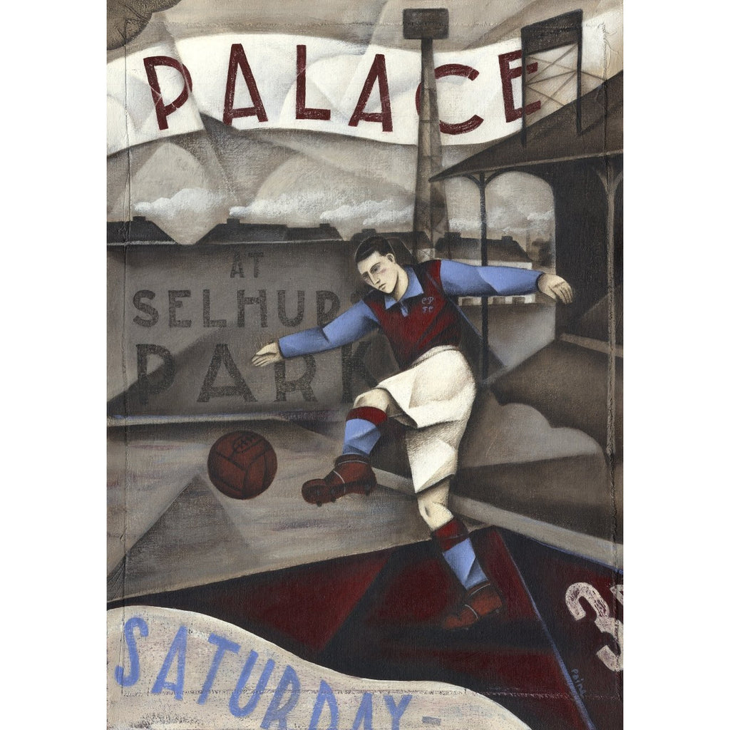 Crystal Palace FC - Saturday 1936 Ltd Edition Print by Paine Proffitt Ltd Edition Print Football Gift