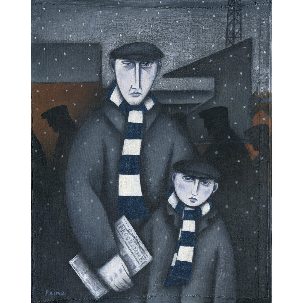 Dundee Every Saturday Ltd Edition Print by Paine Proffitt - BWSportsArt