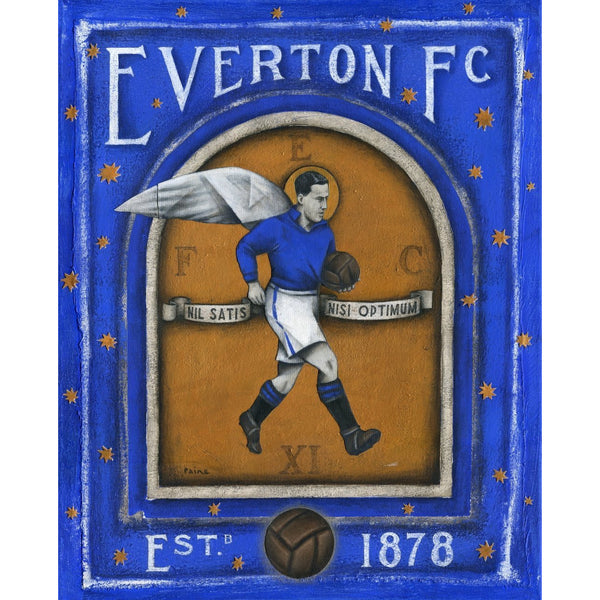 Everton FC - Everton Devine Limited Edition Print by Paine Proffitt - BWSportsArt