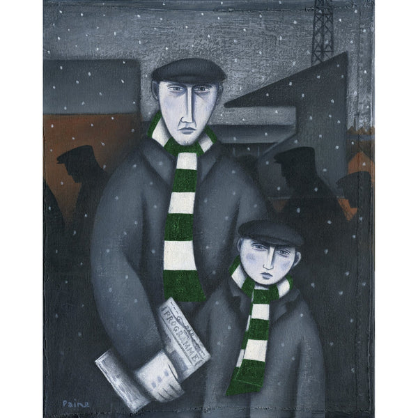 Forest Green Rovers Every Saturday Ltd Edition Print by Paine Proffitt - BWSportsArt