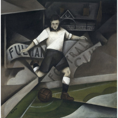 Fulham FC Gift Ltd Edition Signed Football Print by Paine Proffitt | BWSportsArt