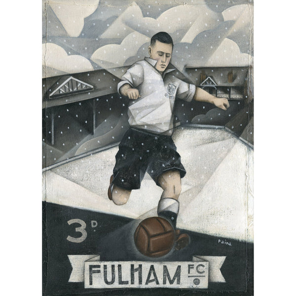 Fulham Gift - Fulham FC Ltd Ed Signed Football Print by Paine Proffitt | BWSportsArt