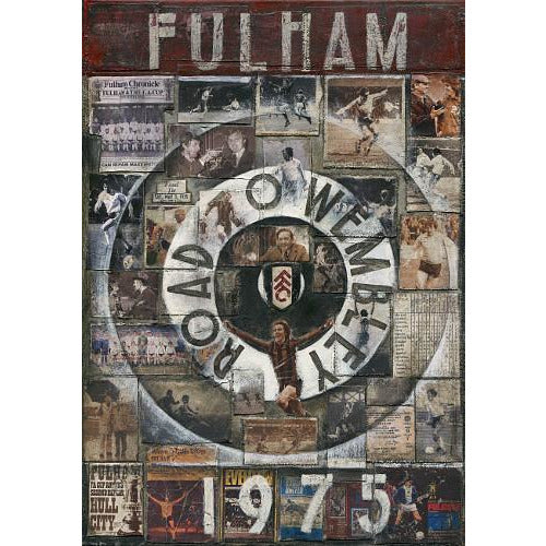 Fulham Gift - Only One F in Fulham Ltd Ed Signed Football Print - BWSportsArt