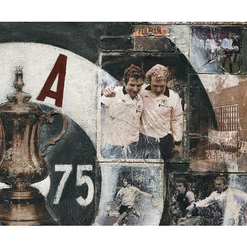 Fulham Gift - Only One F in Fulham Ltd Ed Signed Football Print | BWSportsArt