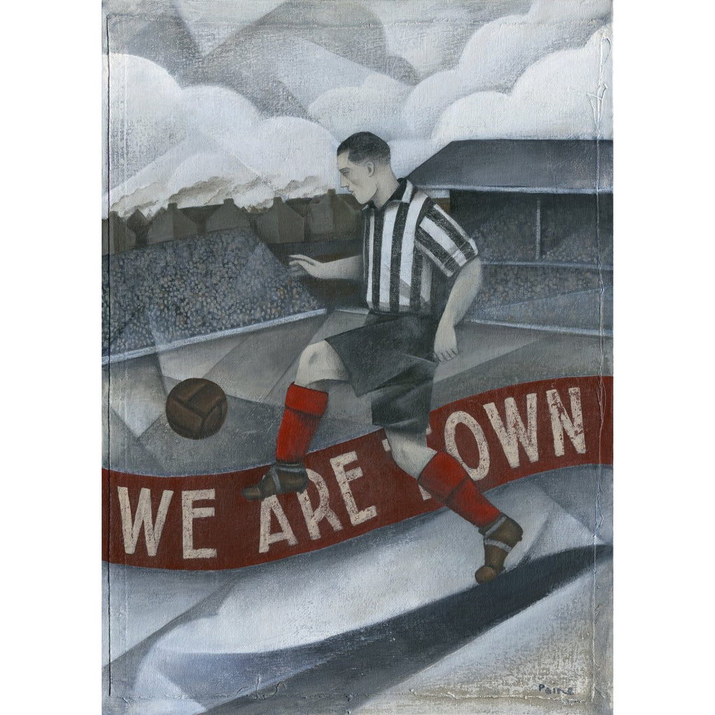 Grimsby Gift - We are Town Blundell Park Ltd Edition Signed Football Print | BWSportsArt