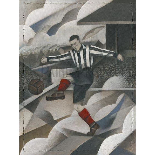 Grimsby Town Gift - Blundell Park Saturday Limited Edition Signed Football Print - BWSportsArt