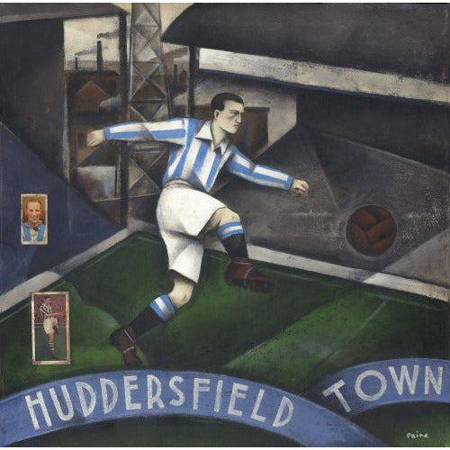 Huddersfield Town AFC - Huddersfield Town Limited Edition Print by Paine Proffitt - BWSportsArt