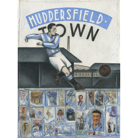 Huddersfield Town - Huddersfield Town Winter - Limited Edition Print by Paine Proffitt - BWSportsArt