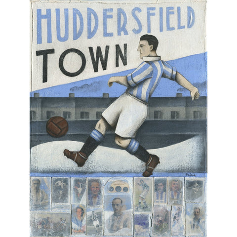 Huddersfield Town - Town - Huddersfield Town - Limited Edition Print by Paine Proffitt - BWSportsArt