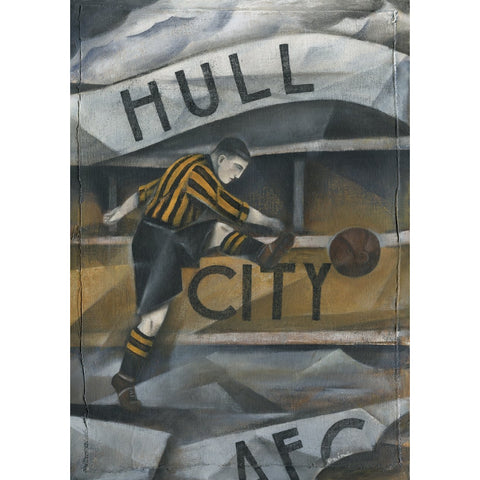Hull City - Hull City AFC Ltd Edition Print by Paine Proffitt | BWSportsArt