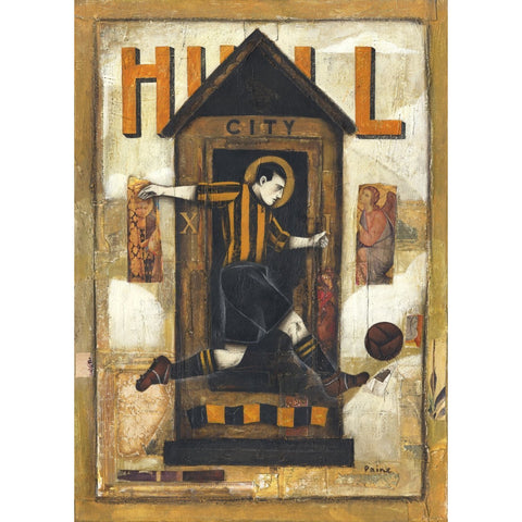Hull City - Hull City Ltd Edition Print by Paine Proffitt | BWSportsArt