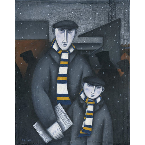 Leeds Every Saturday Ltd Edition Print by Paine Proffitt - BWSportsArt