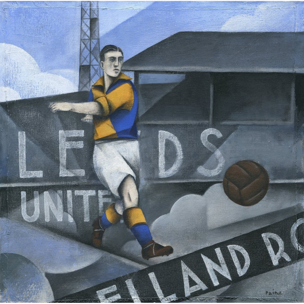 Leeds Utd - Leeds United Ltd Edition Print by Paine Proffitt - BWSportsArt