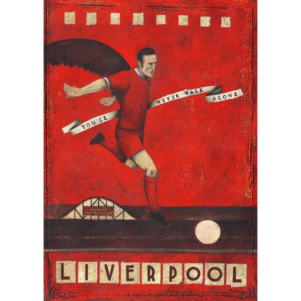 Liverpool FC - Liverpool - Thompson Limited Edition Print by Paine Proffitt - BWSportsArt