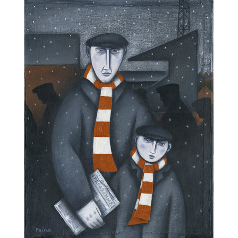 Luton Town Every Saturday Ltd Edition Print by Paine Proffitt - BWSportsArt