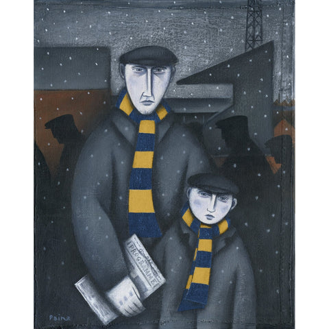 Mansfield Town Every Saturday Ltd Edition Print by Paine Proffitt | BWSportsArt