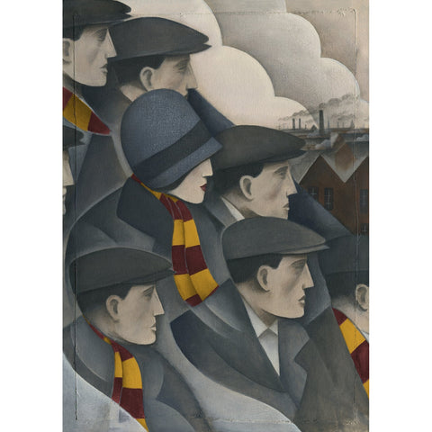 Motherwell The Crowd Ltd Edition Print by Paine Proffitt Ltd Edition Print Football Gift