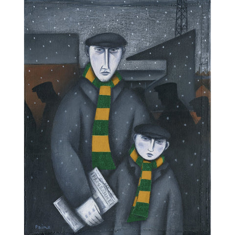 Norwich City Every Saturday Ltd Edition Print by Paine Proffitt - BWSportsArt