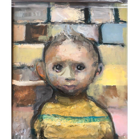 Norwich City Nipper by Lucy Manfredi | BWSportsArt