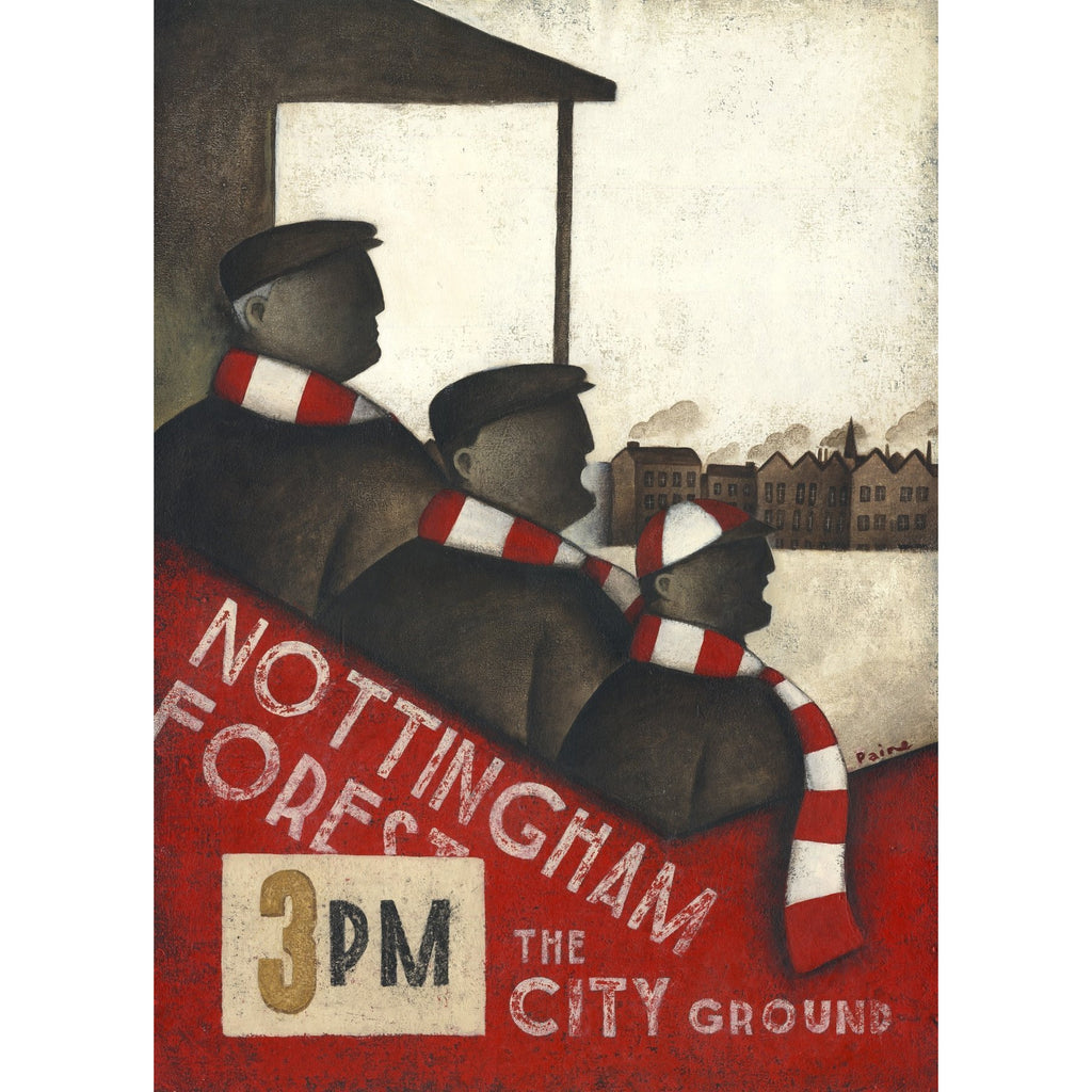 Nottingham Forest FC - Forest In Our Family Blood - Ltd Edition Print by Paine Proffitt | BWSportsArt