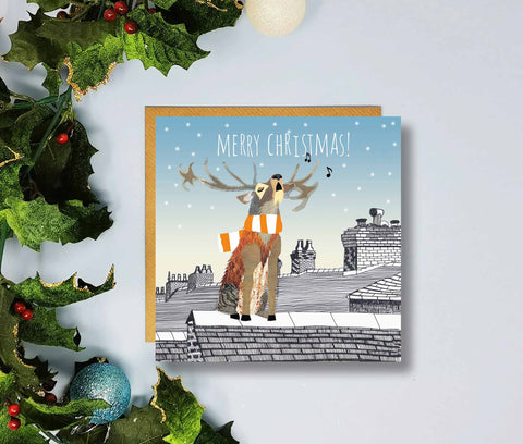 Blackpool Merry Christmas Cards by Flying Teaspoons